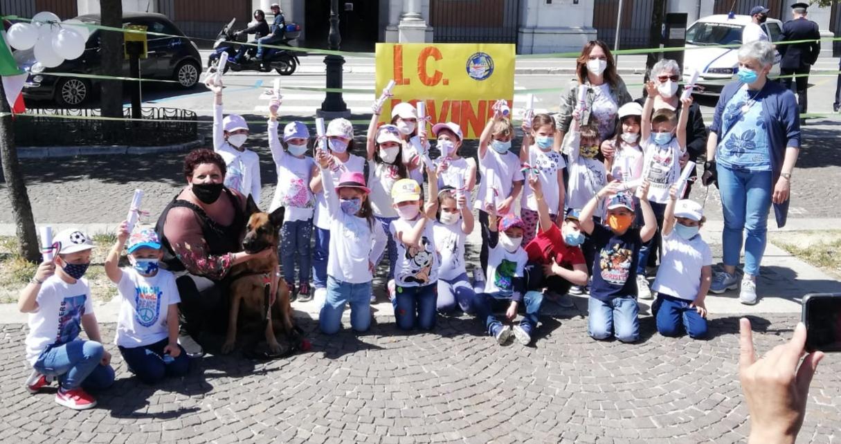 L'Agenda 2030, i bambini della Scuola dell'Infanzia e… un ospite d'eccezione
