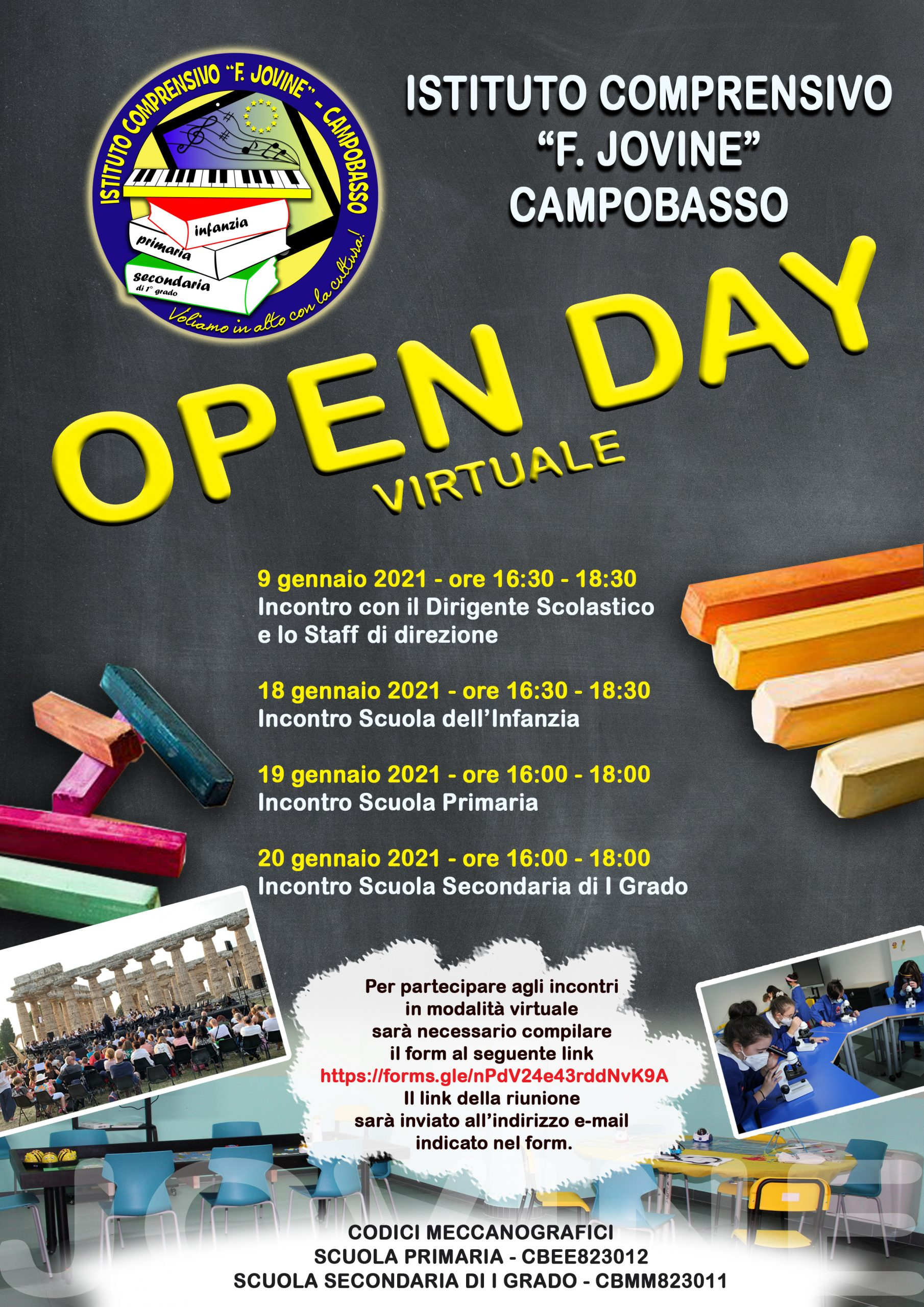 OPEN DAY IC JOVINE