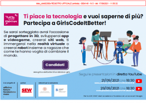 PROGETTO GIRLS CODE IT BETTER